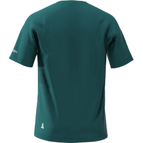 Zimtstern Hakaz T-shirt Homme, pacific green /jester red /living coral